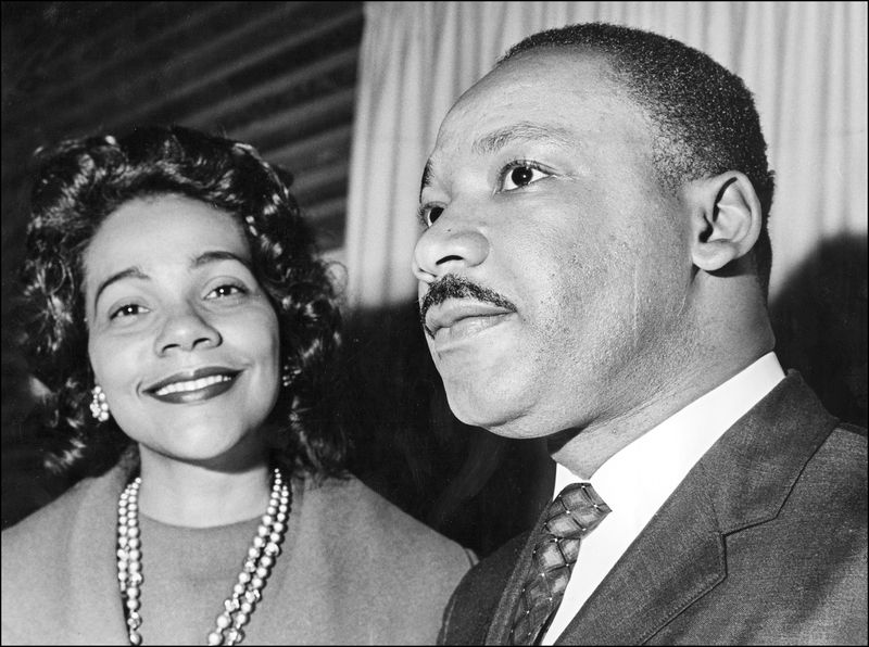 Coretta and Martin